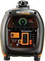 Generac iQ2000 Inverter Generator Straight On Control End