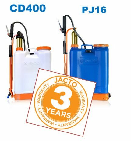 Jacto Backpack Sprayer CD400 PJ16 3 Year Warranty