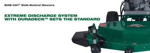BOB-CAT® Walk-Behind Mowers - Extreme Discharge System