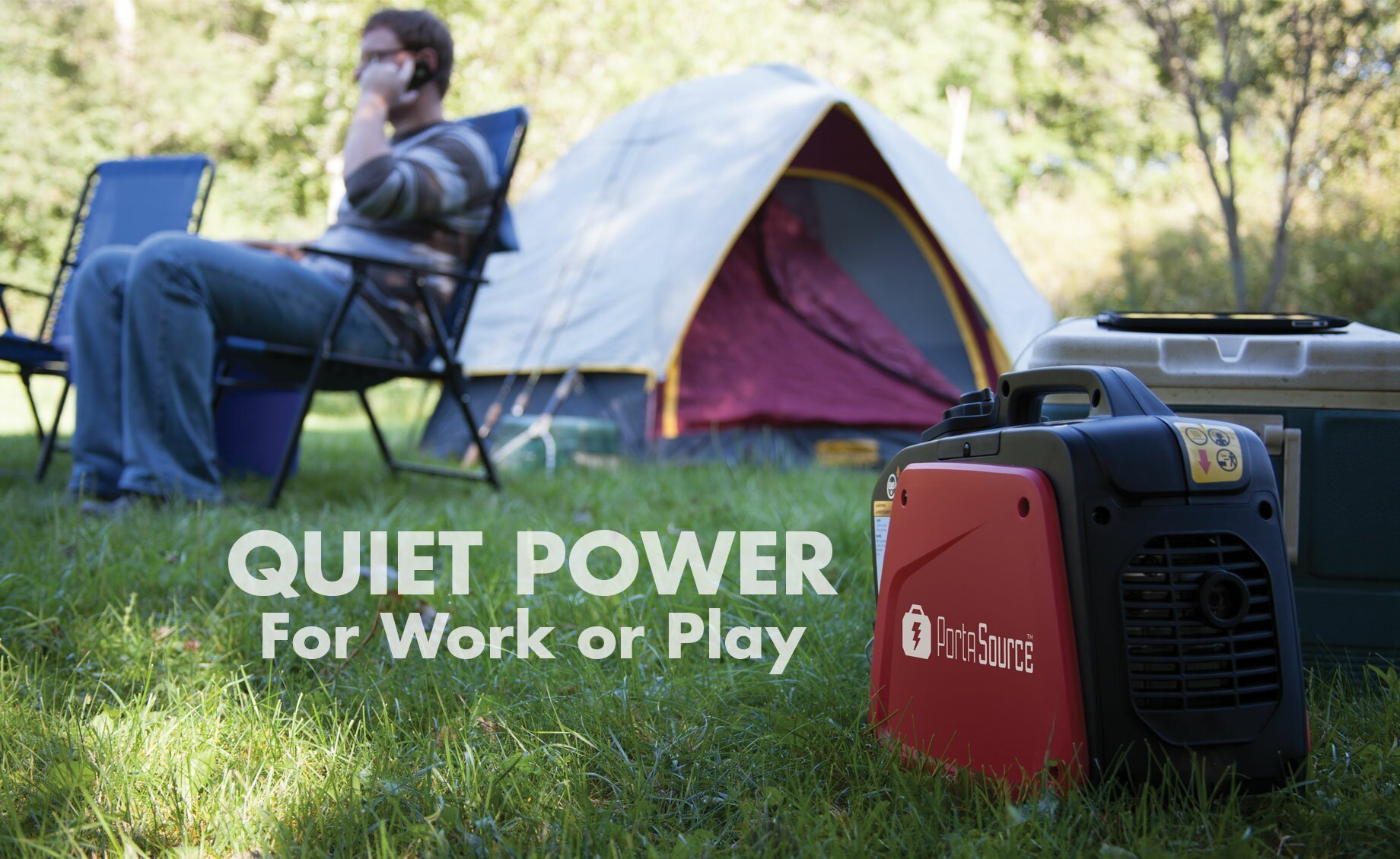 PortaSource Quiet Power for Work or Play