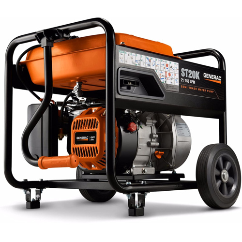 Generac 6822 Semi-Trash Water Pump – Most Powerful Water Pump