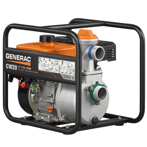 Generac 6918 CW20 Clean Water Pump – Most Efficient Water Pump