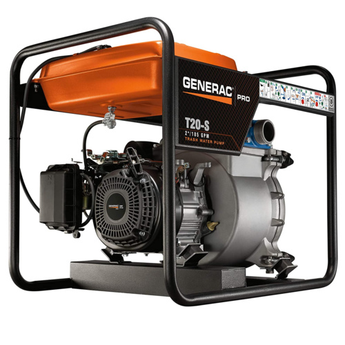 Generac 6920 Trash Pump G-Force – Best Overall Water Pump